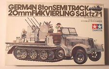 Tamiya German 8 ton Semi Track, Sd.kfz7/1, 20mm FLAKVIERLING 1/35 35050
