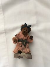 "Boyds Bears Folkstone collectibles ""Ms. Getz Saturday Night"""