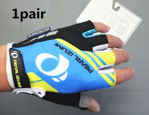 MTB Road Bike racing Half Finger Glove Cycling Short Fingerless Gloves 4 sizes