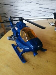 Tonka Blue Police helicopter 03463 large 18inch Toy  Lights Sound rare to find