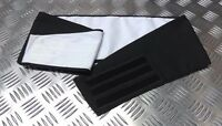Genuine British Royal Navy Officers Issue BLACK Cummerbund Naval RN Ceremonial