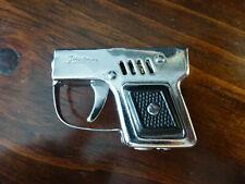 Vintage Partner Derringer/Gun/Pistol Silver Black Handle Cigarette Lighter Japan