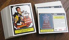 1991-1992 Score #316 Mario Lemieux (Penguins) Con Smythe Trophy (LOT 87 Cards!)
