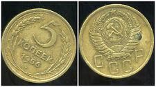 RUSSIE   5 kopek   1956