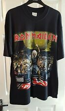 Iron Maiden Metal 2001 Fan Club Only Gig T-Shirt XL (VERY RARE!)...●REDUCED!●