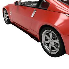 For Nissan 350Z 2003-2008 Vicrez VZ3 Style Black Side Skirt Splitters
