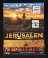 Jerusalem (Blu-ray Disc, 2015, 3D) w/slip Factory Sealed