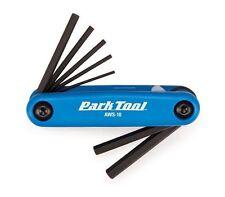Park Tool Aws-10 plegar llave hexagonal conjunto bicicleta herramienta azul