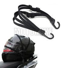 Durable Motorcycle Bike Luggage Helmet Hold Down Net Buckle Holder Rope Strap