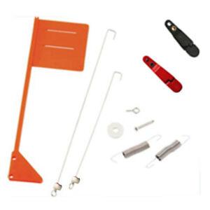 2 Sets Tattle Flag Upgrade Kit For Planer Board