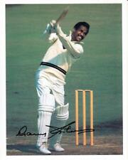"Sir Garfield Sobers - Colour 10""x 8"" Signed 'Match' Photo - UACC RD223"