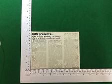 EMS polysynthi Sintetizzatore stampa articolo rivista vintage stampa l'articolo 1978