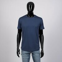 LORO PIANA 505$ Short Sleeve Silk & Cotton Crewneck Tshirt