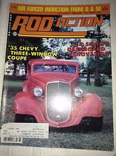 Rod Action Magazine '35 Chevy Coupe Tex Smith March 1984 040717NONRH