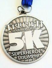 Superheroes Triumph 5k Triumph Foundation Medal