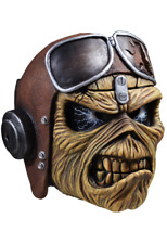 Halloween Iron Maiden - Aces High Eddie  Deluxe Mask TOT's Officially Licensed