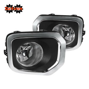 2016-17 Toyota Tacoma OE Style Clear Fog Light Kit w/ Harness + On/Off Switch