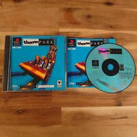 Theme Park PS1 Game Sony PlayStation 1 | Complete With Manual Tested PAL