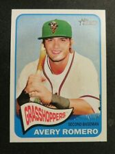 2014 Topps Heritage Minors, Greensboro Grasshoppers - AVERY ROMERO