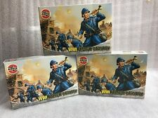 airfix 1/72 a01728 3x boxes ww1 french infantry new old stock model figure kit