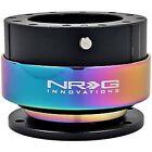 Nrg Gen 2.0 Steering Wheel Quick Release Hub Black Body Neo Chrome Ring