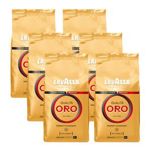 Lavazza Qualita Oro, 1000g ganze Bohne 6er Pack