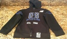 New  Balance Size 4t Boys Hoodie Jacket Black Blue