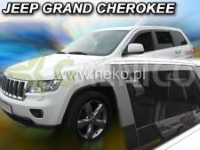 JEEP GRAND CHEROKEE 5-portes 11-présent Deflecteurs de vent 4-pièces HEKO Bulles