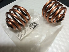 "2"" COPPER PLATED Solo Seat springs  Chopper Harley customs Bobber"