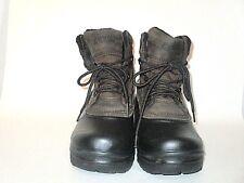 Khombu Men's SITKA Brown-Canvas Green-Suede Hiking Waterproof Winter Boots SZ 8M