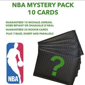 NBA Mystery Pack - Guaranteed 1x Michael Jordan, Kobe Or Shaq + 2x RC 10 Cards