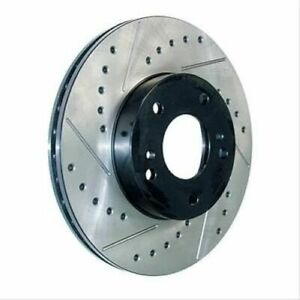 Stoptech 127-67033CR Sport Cryo Drilled & Slotted Brake Rotor For 02-04 H1 NEW