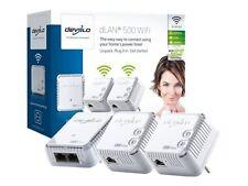 devolo dLAN 500 WiFi Network Kit Powerline Transmission Speed up 500mbps 9092