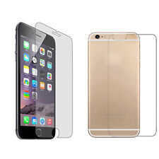 Ultra Thin 9H Tempered Glass Film Screen Protector For iPhone 6 6S Back + Front