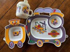 Oneida Railroad Train Meal Time 1994 Childs Dish Set