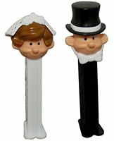 Bride & Groom Pez MIB - Cello Bag Packaging with 2 Rolls Refills