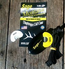 Sage Game Calls, Diaphragm Mouth Call Case for Elk and Turkey Calls