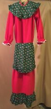 NEW MRS CLAUS CHRISTMAS DRESS COSTUME SIZE LARGE