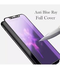 2 Pack iPhone X Anti Blue-Ray 3D Full Cover Curved Glass Screen Protector