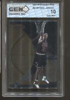 1997-98 Michael Jordan Bowman's Best #60 Gem Mint 10 Chicago Bulls MVP HOF
