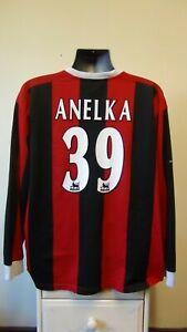 Manchester City Away Football Shirt Jersey 2003-2004 ANELKA 39 XXL 2XL 50/52