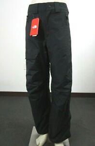 Mens The North Face Seymore Ski Snowboard Shell Waterproof Snow Pants - Black
