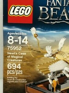 new Lego 75952 Newt's Case of Magical Creatures 4 minifigures