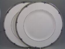 "WEDGWOOD AMHERST 10 3/4"" DINNER PLATE X 2."