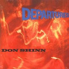 """Don Shinn:  """"Departures""""  (CD Reissue)"""