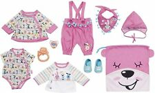 Baby Born Deluxe First Arrival Clothes Outfit Kids Toy Set for 43cm Dolls 3y