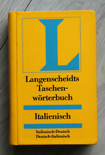 Langenscheidts Taschenwörterbücher ITALIENISCH - ital./deutsch + deutsch/ital.