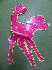 Bambi Kitz Reh Disney Fensterbild Aufkleber 58 cm PINK wiederverwendbar