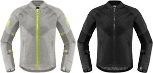 Icon 2020 Women's Mesh AF Street Jacket CE Approved All Colors & Sizes