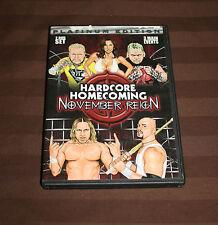 Hardcore Homecoming 2 - November Reign (DVD, 2006) PWG ECW TNA ROH WWE
